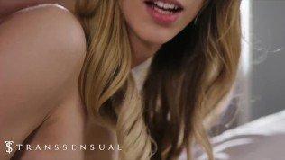 Trans Sensual – Tranny Casey Kisses Gets Dick Where Ever She Wants