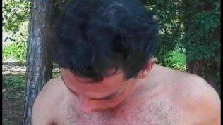 Well Hung Tranny Fucks in Woods – Gentlemens Video